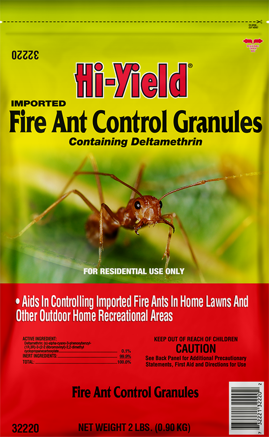 Imported Fire Ant Control Granules (5 Lbs)