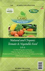 Natural and Organic Tomato & Vegetable Food 2-5-3 (12 lbs)