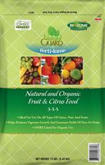 Natural and Organic Fruit & Citrus Food 3-5-5 (12 lbs)