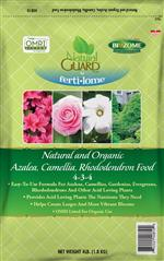 Natural and Organic Azalea, Camellia, Rhododendron Food 4-3-4 (4 lbs)