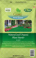 Natural and Organic Plant Starter (4 lbs)