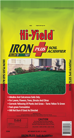 Iron Plus Soil Acidifier 11-0-0 (25 lbs)