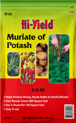 Muriate of Potash 0-0-60 (4 lbs)
