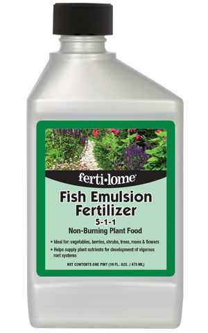 Fish Emulsion Fertilizer 5-1-1 (16 oz)