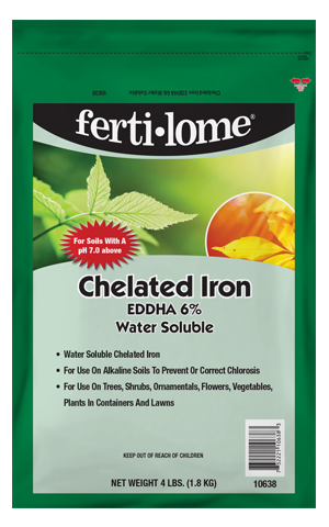 Chelated Iron EDDHA 6% Water Soluble (4 lb)