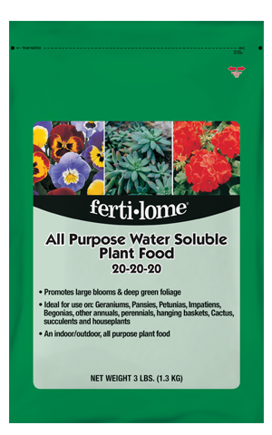 All Purpose Water Soluble Plant Food 20-20-20 (3 lb)