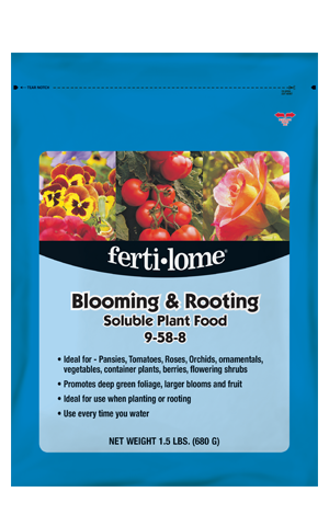 Blooming & Rooting Soluble Plant Food 9-58-8 (1.5 lbs)