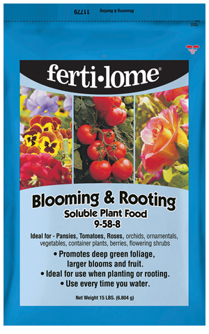 Blooming & Rooting Soluble Plant Food 9-58-8 (15 lbs)