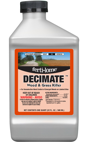 DECIMATE Weed & Grass Killer (32 oz)