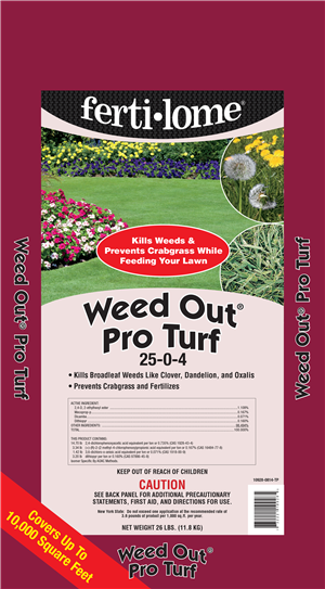 Weed-Out Pro Turf 25-0-4 (26 lbs)