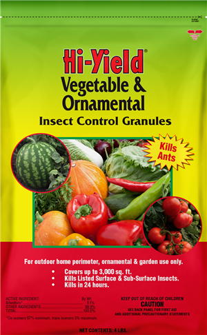 Vegetable & Ornamental Insect Control Granules (4 lbs)