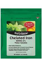 Chelated Iron EDDHA 6% Water Soluble (1 lb)