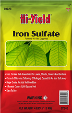 Iron Sulfate (4 lbs)