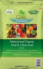 Natural and Organic Fruit & Citrus Food 3-5-5 (4 lbs)