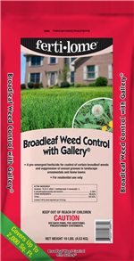 Broadleaf Weed Control with Gallery (10 lbs)