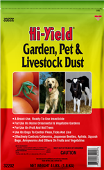 Garden, Pet and Livestock Dust (4 lbs)