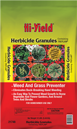 Herbicide Granules Weed and Grass Preventer (15 lbs)