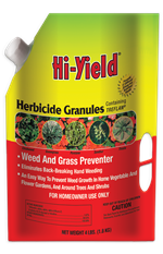 Herbicide Granules Weed and Grass Preventer (4 lbs)